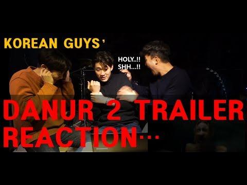Korean Guys React to Indonesian Horror Movie Trailer: DANUR 2