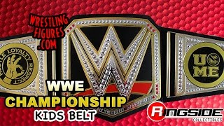 wwe figure insider reversible john cena side plates wwe championship toy wrestling belt