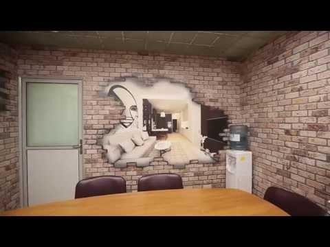 3D Фотообои Wall Street для переговорной компании Мосремгрупп , Москва