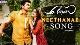 Mersal Neethanae Tamil Full Song Vijay Samantha A R Rahman