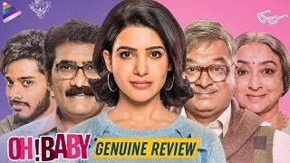 Oh Baby Movie REVIEW   Samantha Akkineni   Naga Shaurya   Nandini Reddy   Oh Baby 2019 Telugu Movie