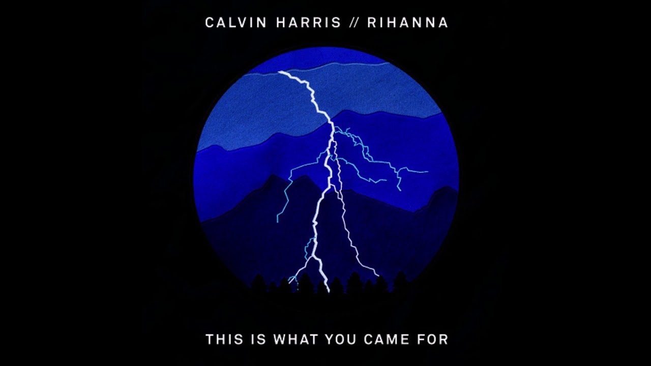 Calvin Harris This Is What You Came For Album Cover