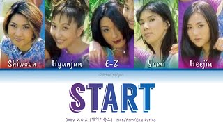 Baby V.O.X (베이비복스) Start (스타트) - Han/Rom/Eng Lyrics (가사) [19…