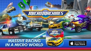 Official Micro Machines (by Chillingo) Announcement Trailer (iOS)