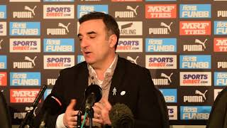 Carvalhal 'very happy' with Swans start