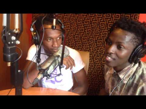 B2C INTERVIEW FOR NKWAGALA VIDEO PREMIERE AT GALAXY FM WITH DJ NIMROD