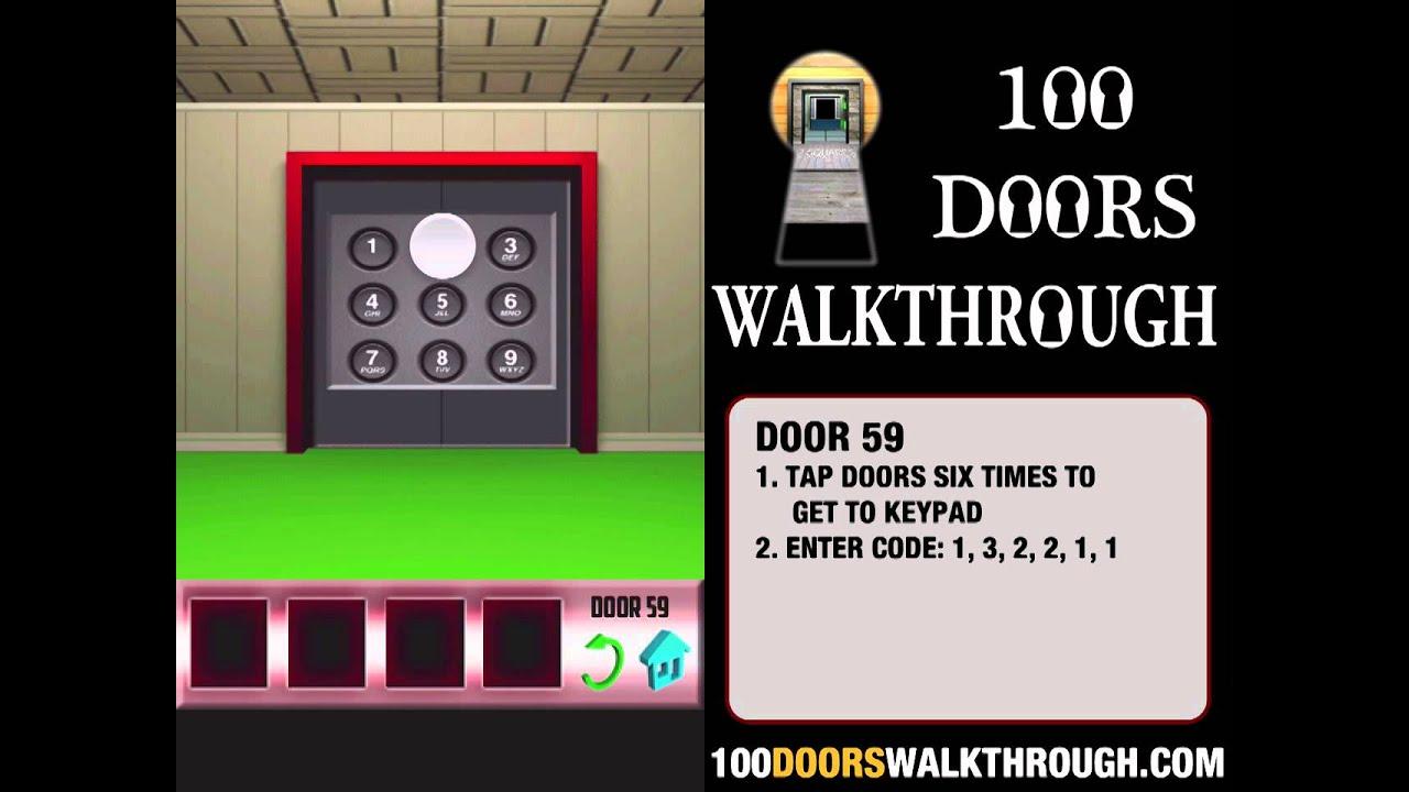 100 doors x door 59 walkthrough iphone 100 doors x 59 for 100 door x