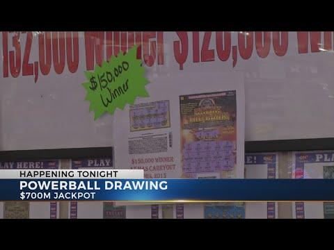 Powerball climbs to $700 million