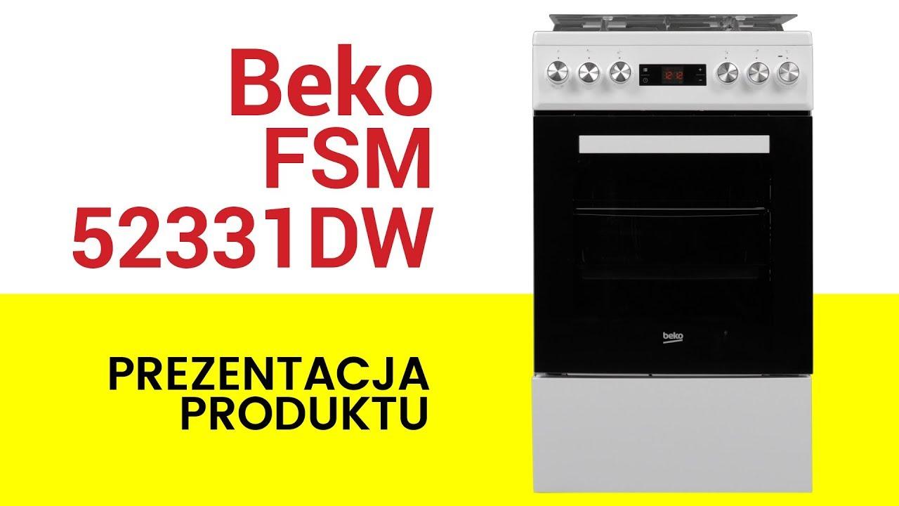 Kuchnia Beko Fsm52331dw