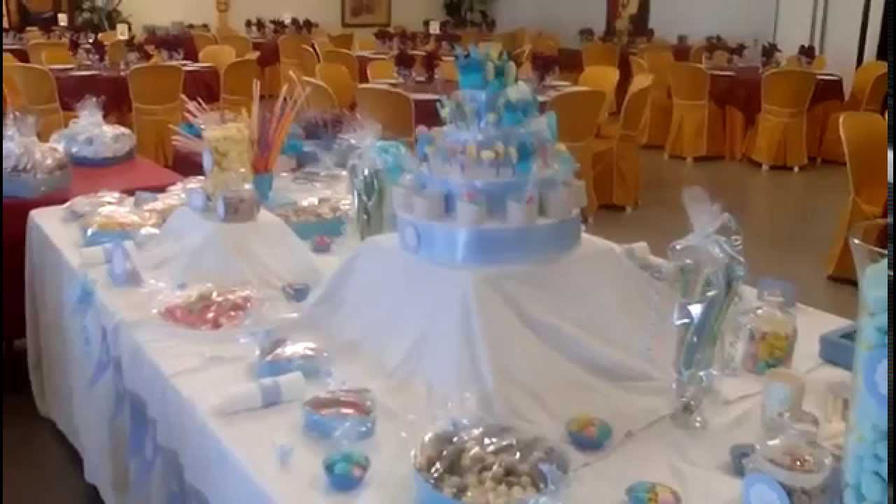 Regala ilusiones 2015 mesa candy de golosinas y - Como decorar una mesa de comunion ...