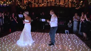 The BEST FIRST WEDDING DANCE EVER !! (NEW) .... Paz and Sharon ....