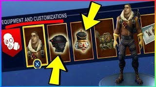 *NEW* Character Head Gear Revealed In Fortnite Battle Royale SEASON 3 Battle Pass! Skins