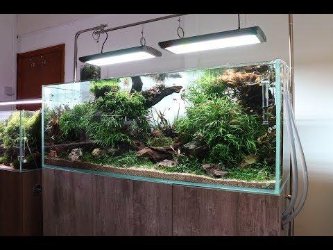 Aquascaper 1500 Nature Aquarium Aquascape  - New Life Aqua Master Pro RGB LED