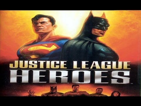 Justice League Heroes [All Cutscenes]
