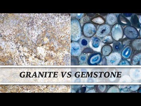 Granite vs Gemstone | Countertop Comparison