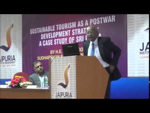 Guest Lecture  By  H.E. Professor Sudharshan Seneviratne, High Commissioner for Sri Lanka to India