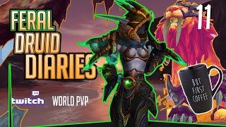 445 ilvl Feral Druid | 8.2 World PVP  | Evil Morning Delight