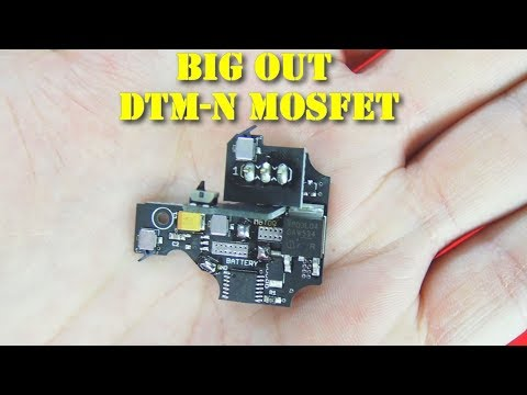Airsoft - Impulse101- Big Out DTM-N MOSFET pour Marui V2 NG [ENG sub]
