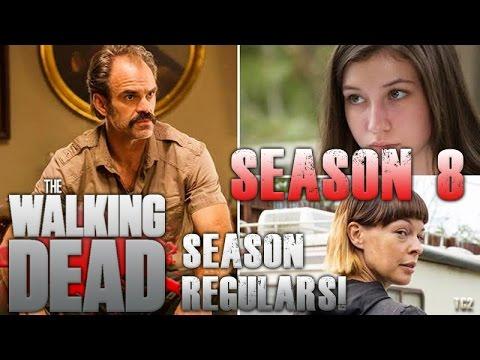 The Walking Dead Promotes Simon, Jadis, and Enid to Season 8 Regulars!