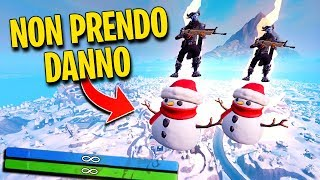 """BUG FORTNITE"" HOW NOT TAKE WITH the NEVE PUPAZZO!!"