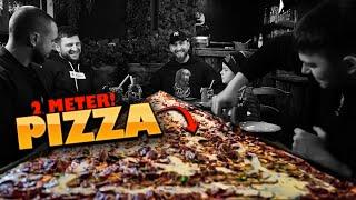 KELLER VS 2 METER PIZZA 🍕