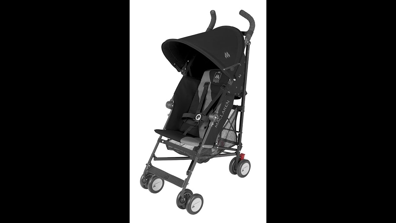 maclaren triumph stroller - maclaren triumph stroller review - youtube