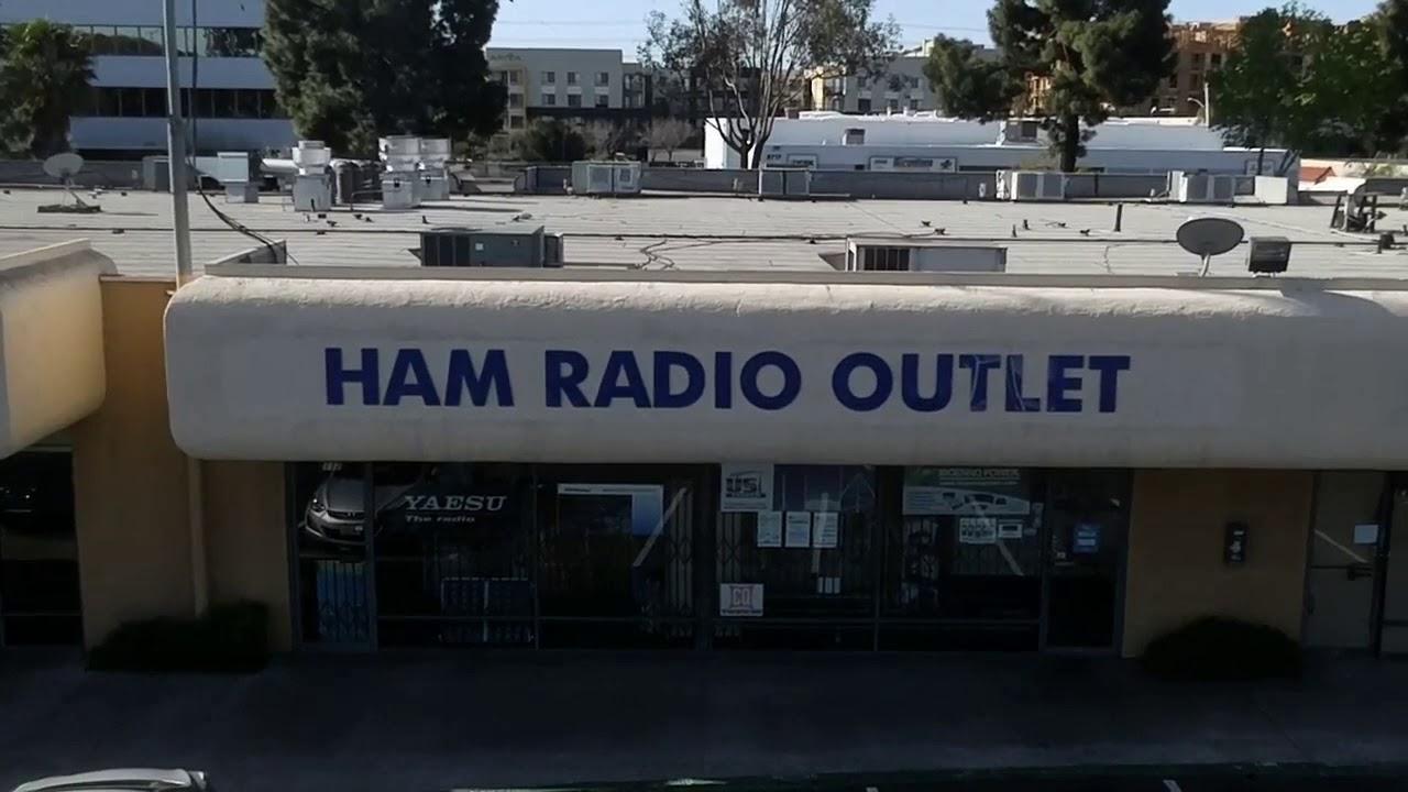 Ryze Tello Over Ham Radio Outlet, San Diego