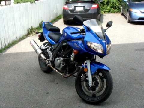 2007 Suzuki SV650S... My bike =P - YouTube