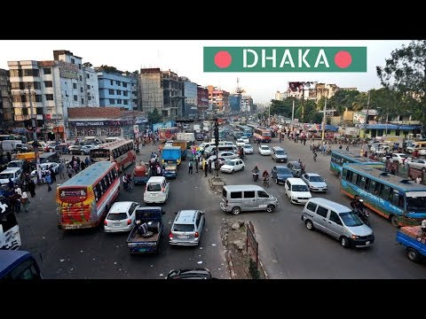 DHAKA, BANGLADESH | The Most Densely Populated City in the World