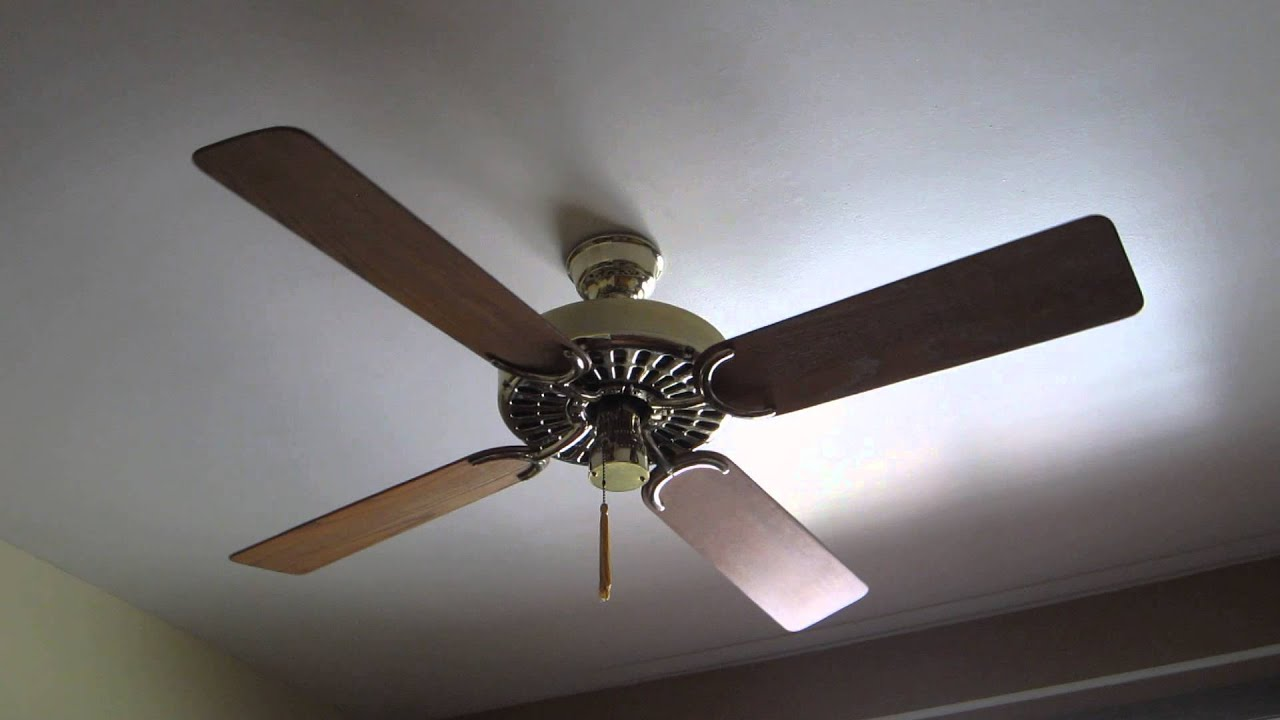 "Hunter R&M Olde Tyme Original 52"" Ceiling Fan - YouTube"