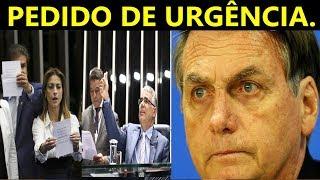Senadores fazem pedido a Bolsonaro sobre lei de Abus0 de autoridade