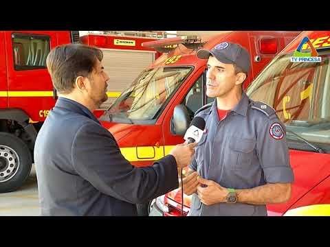 (JC 10/05/18) Corpo de Bombeiros de Minas Gerais deu início à operação Alerta Verde