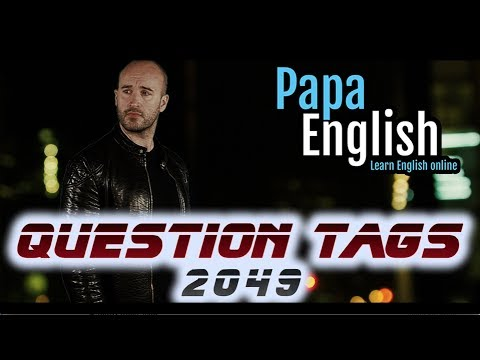 Question Tags! - Isn't it / Shall I? / Have you? - Learn English Grammar