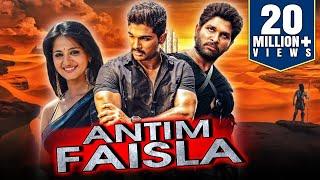 quotAllu Arjunquot Blockbuster Telugu Hindi Dubbed Movie quotAntim Faislaquot  Anushka Shetty Manoj Manchu