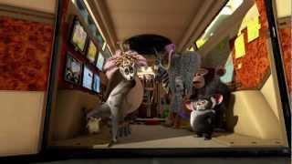《馬達加斯加3:歐洲大圍捕》中文正式版預告【聚星幫電影館】
