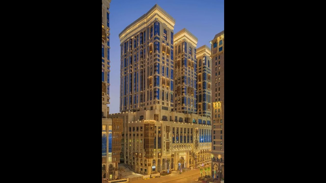 Jabal Omar Hyatt Regency Makkah Hotel فندق جبل عمر حياة ريجنسي مكة 5 نجوم Youtube