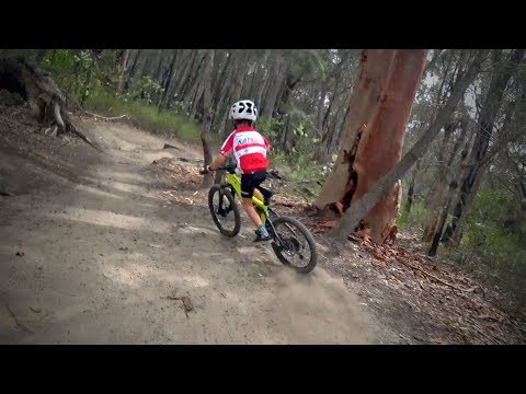 Family Cycling - In The Royal National Park, Sydney (MTB)