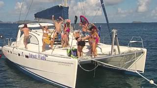 Best Harlem Shake on a yacht - BVI 2015