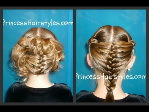 "Mermaid Fin Braid And Updo ""Braided Hairstyles"""