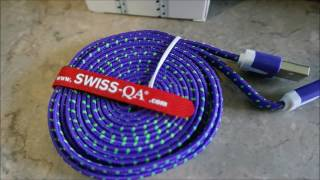 SWISS-QA Lightning Cable Review