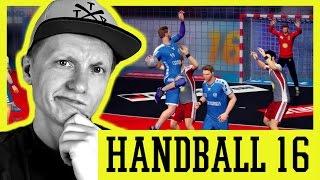 HANDBALL 16 (PS4): Lemgo vs Lübbecke & Barca vs Paris (German/Deutsch) // Tomy Hawk TV