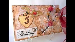 Деревянная свадьба!