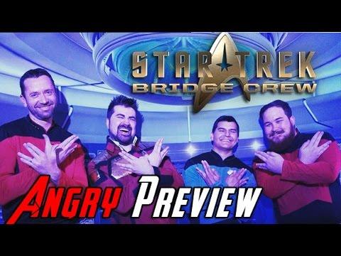 AngryJoe Previews Star Trek Bridge Crew
