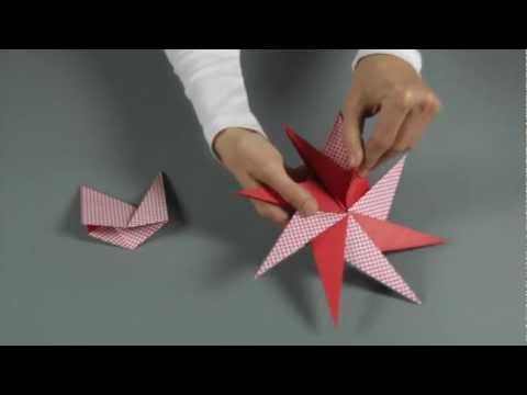 edfb7e815 Origami vianočná hviezda - ako vyrobiť vianočnú hviezdu z papiera - VIDEO  Ako sa to robí.sk