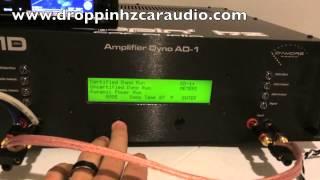 SMD Amp Dyno- Single Input vs Dual Input- DC Audio 3.5k