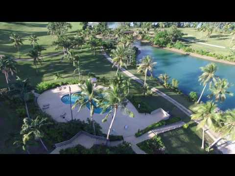 Vanuatu Holiday Inn Resort Flyover