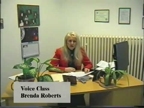 Voice Class Instruction   Brenda Roberts 01 Intro