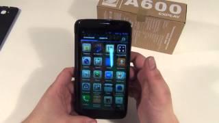 explay A600 обзор