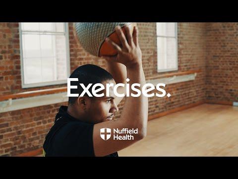 Medicine Ball Halo   Nuffield Health