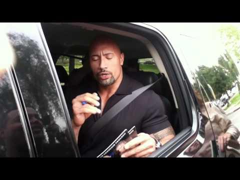The Rock on John Cena